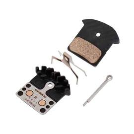 Pastiglie freno metal con aletta j04c