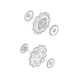 Kit Pulegge cambio Shimano XTR RD-M970